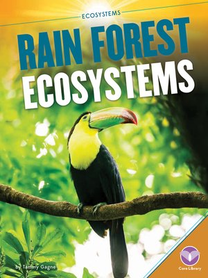 cover image of Rain Forest Ecosystems